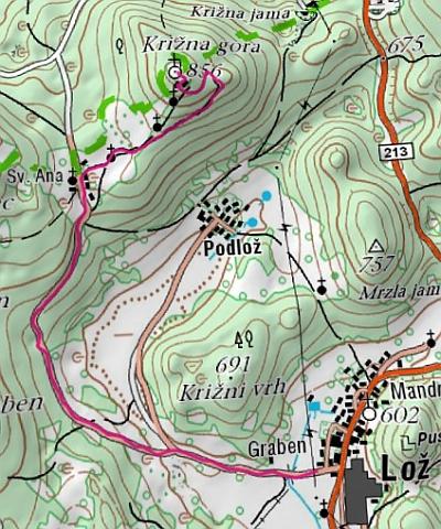krizna gora trasa - Vabilo na 10. Tek na Križno goro