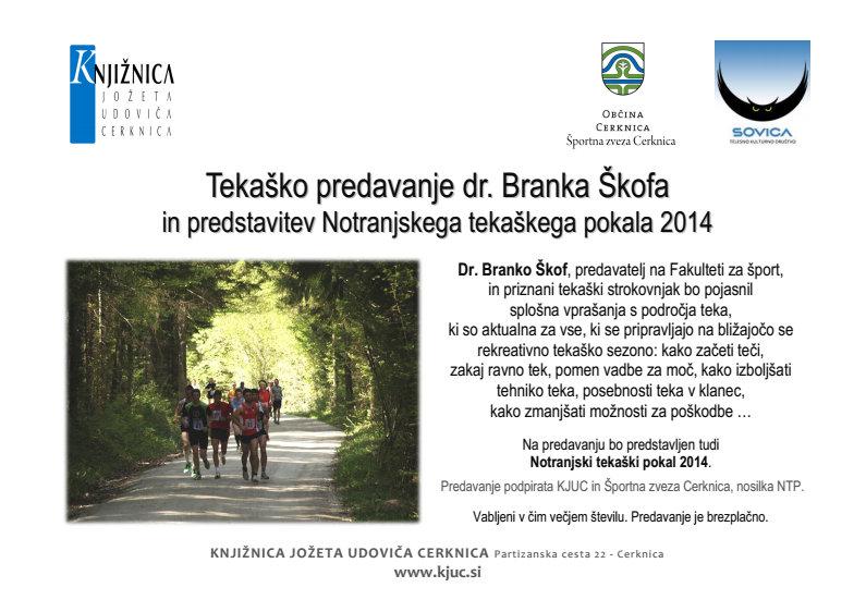 Celozaslonski zajem 5.3.2014 120426 - Vabilo na tekaško predavanje in predstavitev Notranjskega tekaškega pokala 2014 - prestavljeno na 19.3.