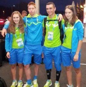 MOI kolesarska ekipa 294x300 - Anita Žnidaršič - udeleženka mladinskih olimpijskih iger na Kitajskem