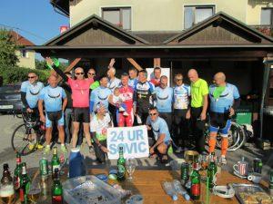 24 ur 2 300x225 - Rok Mahne, Sandi Mramor in Hiti Bojan - prvi trije ekstremisti na dirki 24 ur kolesarjenja sovic