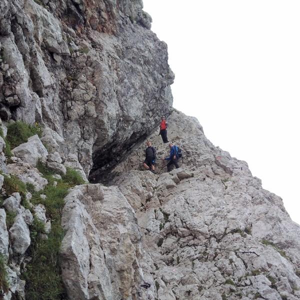 Vzpon po slovenski strani