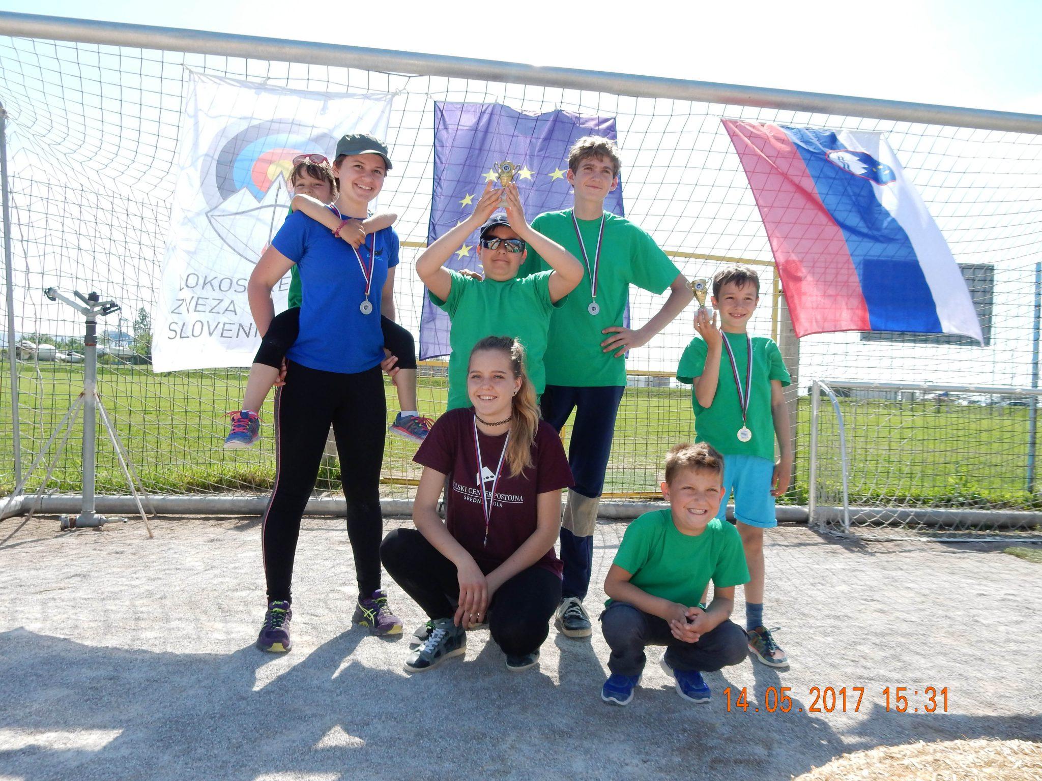 medelje1 - Lokostrelci osvojili prve medalje!