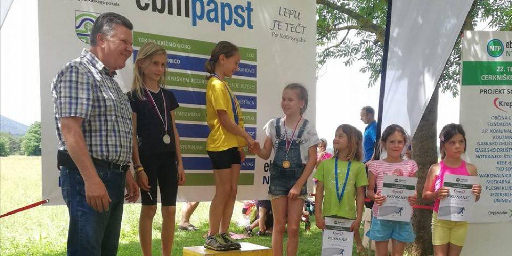 Rezultati 22. teka ob Cerkniškem jezeru Krepko za krepko zdravje
