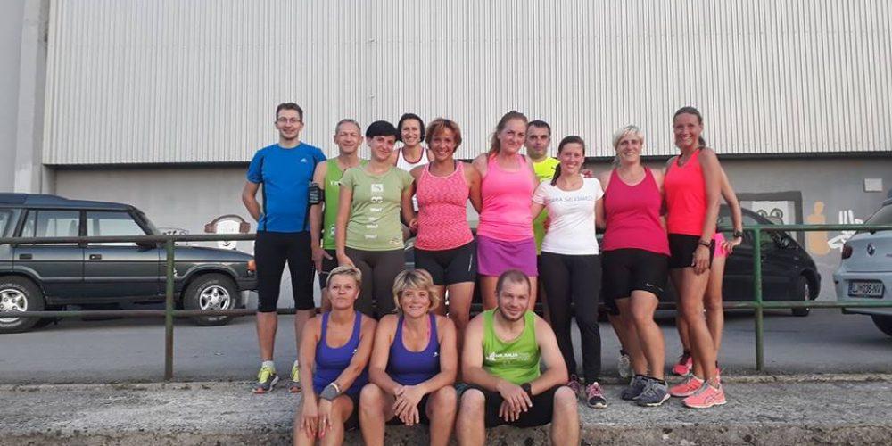 Tekaške vadbe in priprave na Ljubljanski maraton