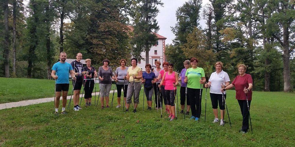 Tekaške vadbe in nordijska hoja